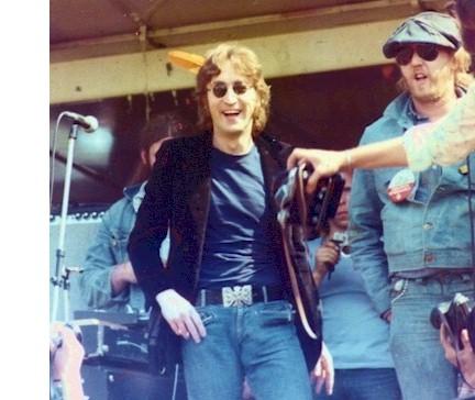 John Lennon w/ Harry Nilsson